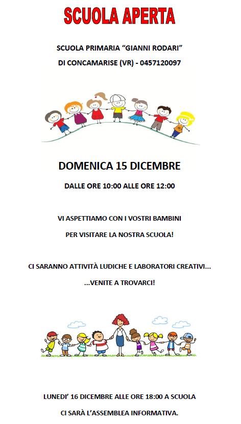 Scuola Aperta Concamarise 2019